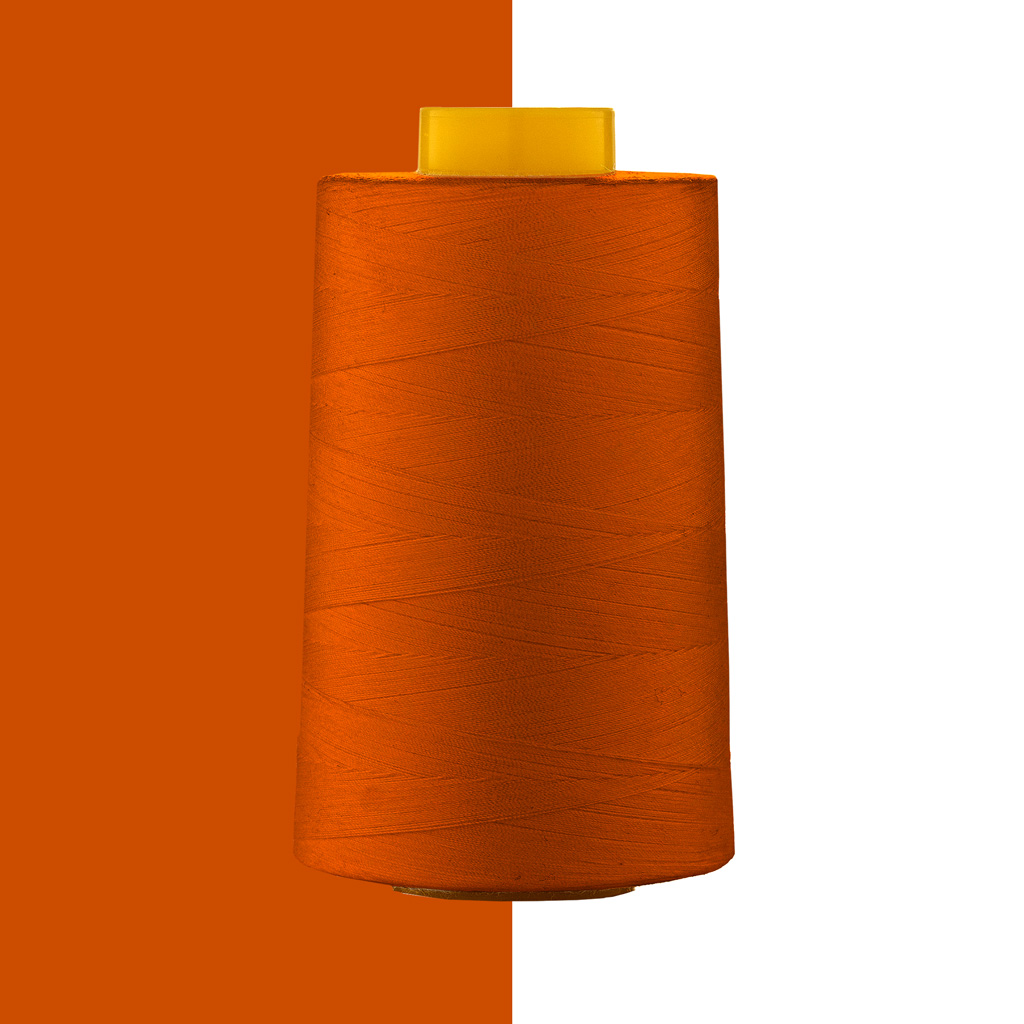 polyester yarn cotton covered