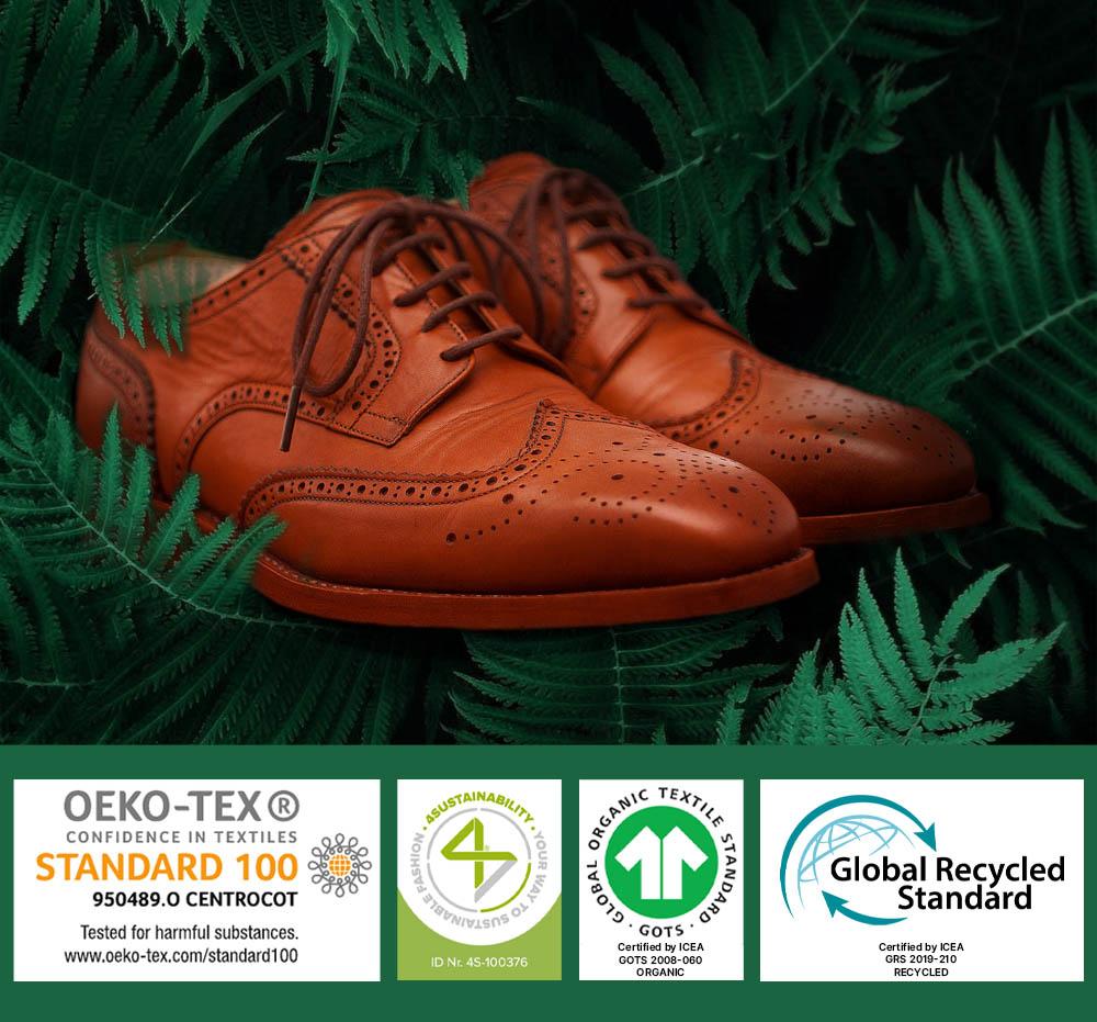 cuciture calzatura sostenibile