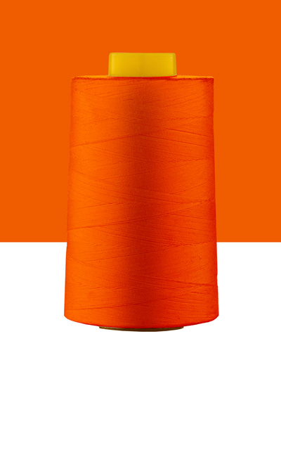 polyester covered cotton thread